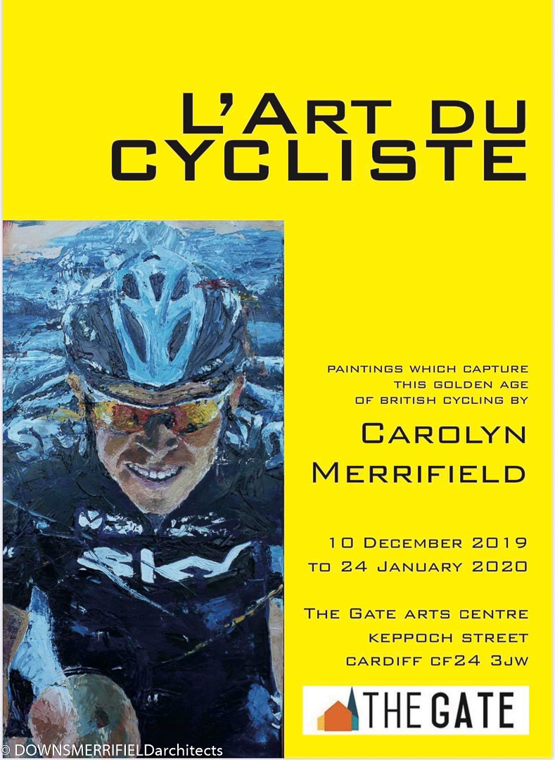 L'Art Du Cycliste - Downs Merrifield Architects - Art Expo - The Gate Cardiff