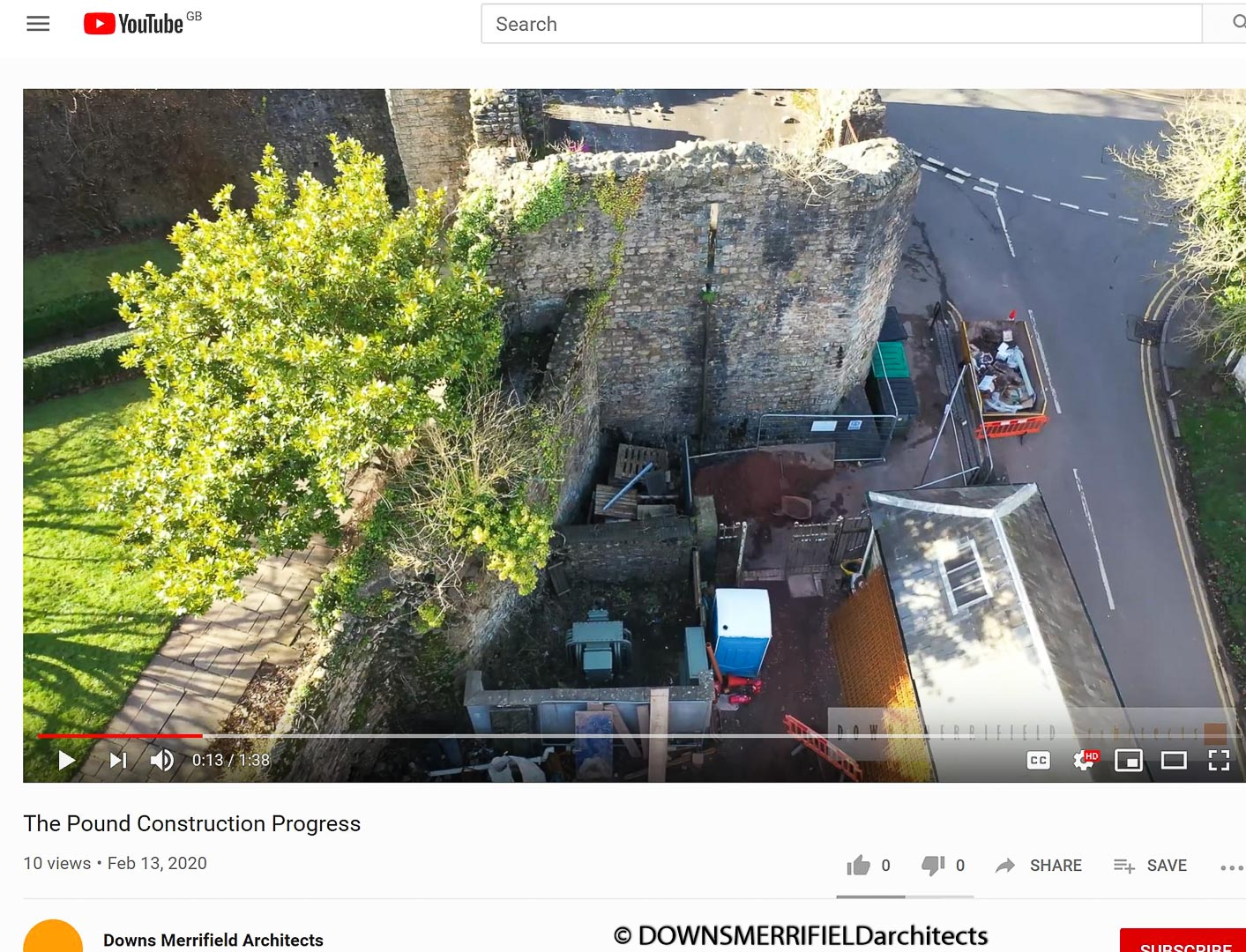 The Pound Llandaff - community project through the lens of a drone